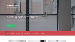Logistics WordPress Themes   GoDaddy