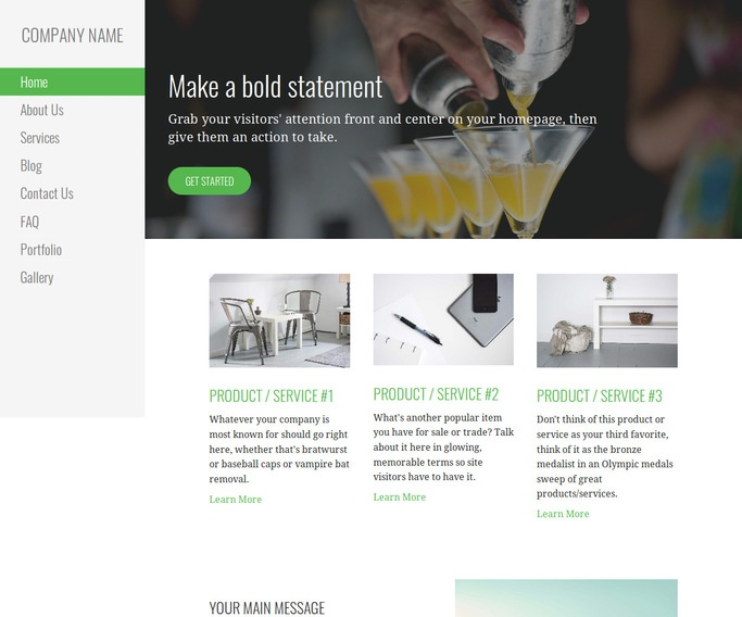 Escapade Lounge WordPress Theme