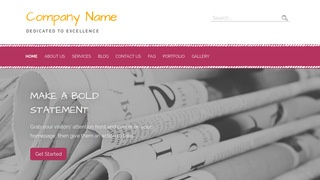 Scribbles Newspapers and Magazines WordPress Theme