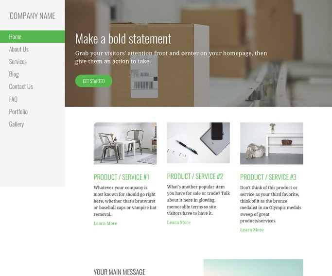 Escapade Mailing and Shipping Service WordPress Theme