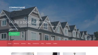 Activation Manufactured and Mobile Homes WordPress Theme