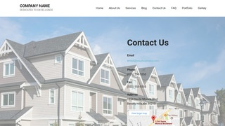 Mins Manufactured and Mobile Homes WordPress Theme