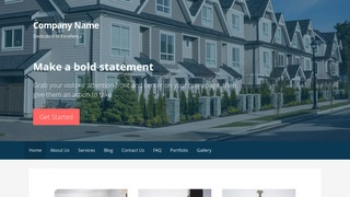 Primer Manufactured and Mobile Homes WordPress Theme