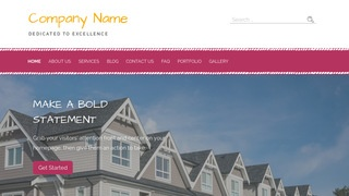 Scribbles Manufactured and Mobile Homes WordPress Theme