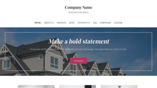 Uptown Style Manufactured and Mobile Homes WordPress Theme
