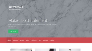 Activation Marble WordPress Theme