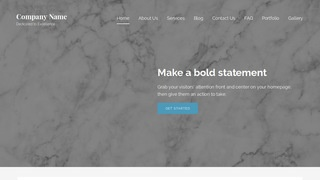 Lyrical Marble WordPress Theme
