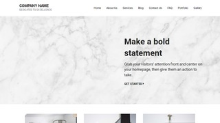 Mins Marble WordPress Theme