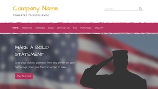 Scribbles Marines Facility WordPress Theme