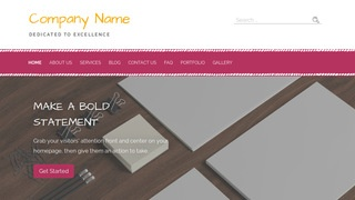 Scribbles Marketing Consultant WordPress Theme