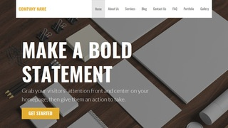 Stout Marketing Consultant WordPress Theme
