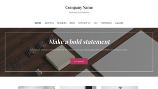 Uptown Style Marketing Consultant WordPress Theme