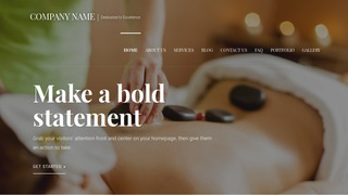 Velux Massage School WordPress Theme