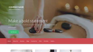 Activation Massage Therapy WordPress Theme