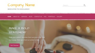 Scribbles Massage Therapy WordPress Theme
