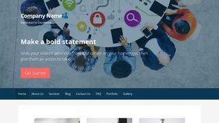 Primer Mass Media WordPress Theme