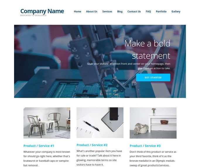 Ascension Mechanical Engineer WordPress Theme