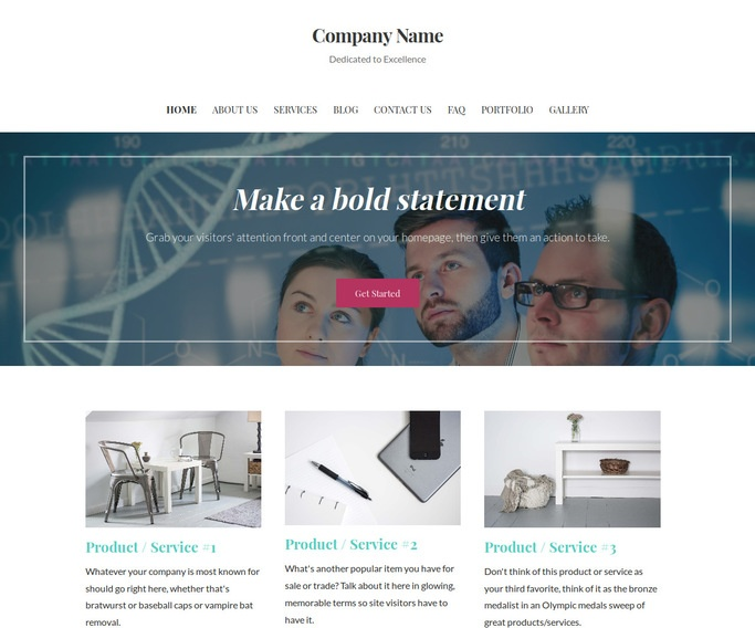Uptown Style Medical Group WordPress Theme