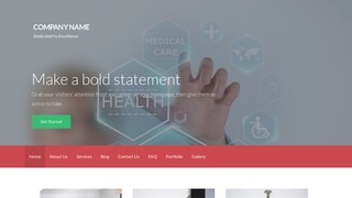 Activation Medical Service Organization WordPress Theme