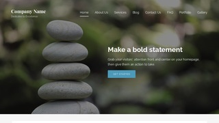 Lyrical Meditation WordPress Theme