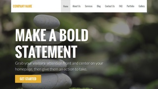 Stout Meditation WordPress Theme
