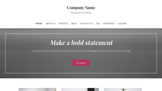 Uptown Style Commercial Metalwork WordPress Theme