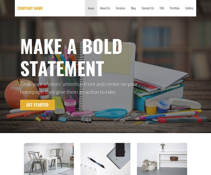 Stout Middle School WordPress Theme
