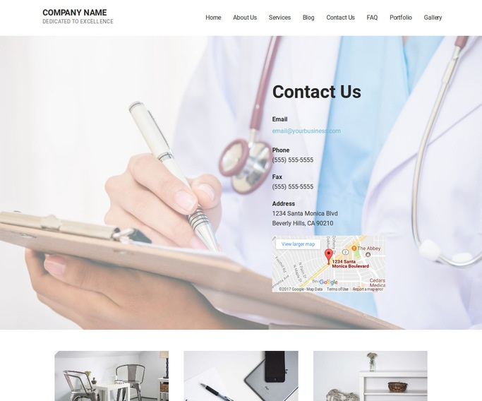 Mins Midwife WordPress Theme