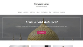Uptown Style Mosque WordPress Theme