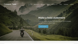 Lyrical Motorcycle Dealer WordPress Theme