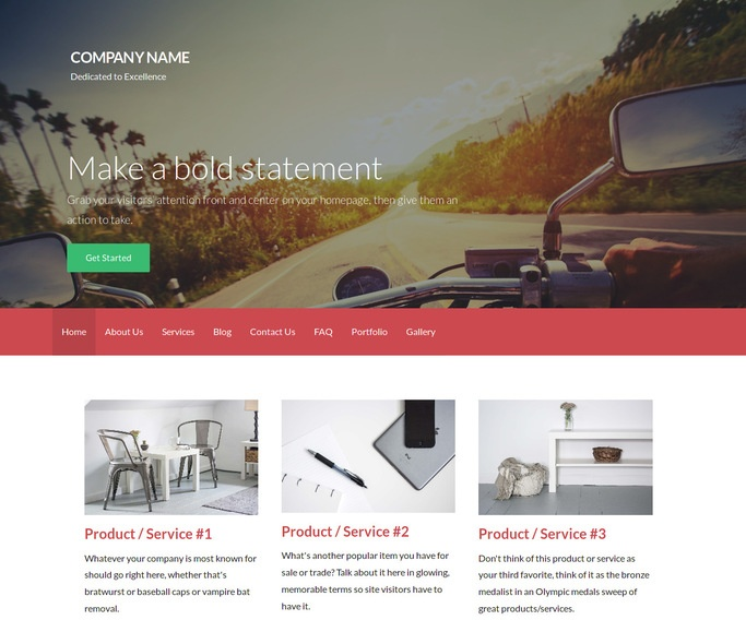 Activation Motorcycle Parts and Accessories WordPress Theme
