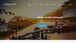 Lyrical Motorcycle Parts and Accessories WordPress Theme