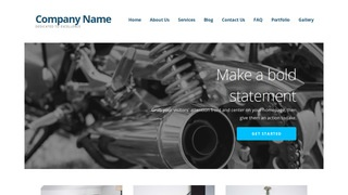 Ascension Motorcycle Repair WordPress Theme