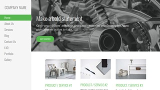 Escapade Motorcycle Repair WordPress Theme