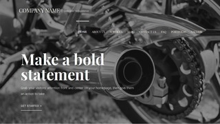 Velux Motorcycle Repair WordPress Theme