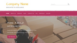 Scribbles Moving Supplies WordPress Theme
