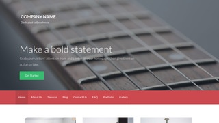 Activation Musical Instruments Repair WordPress Theme