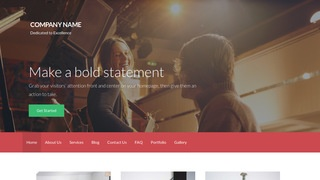 Activation Musician WordPress Theme