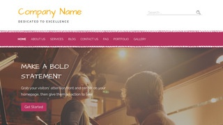 Scribbles Musician WordPress Theme