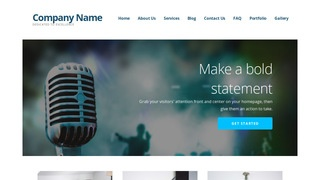 Ascension Music Production WordPress Theme