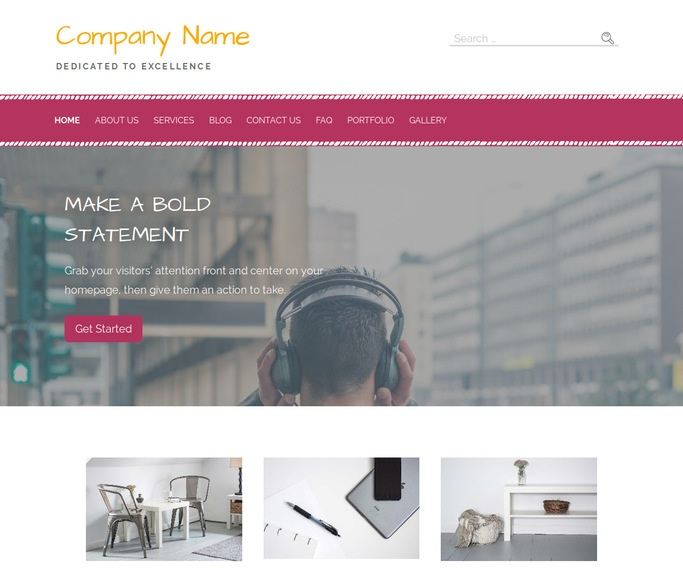 Scribbles Music and DVDs WordPress Theme