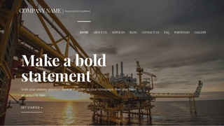 Velux Natural Gas Company WordPress Theme
