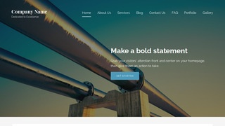 Lyrical Natural Gas Supplier WordPress Theme