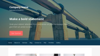 Primer Natural Gas Supplier WordPress Theme
