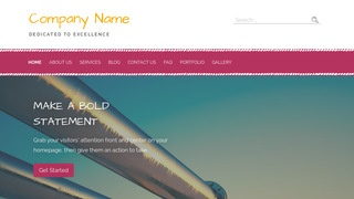 Scribbles Natural Gas Supplier WordPress Theme