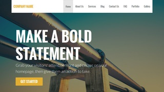 Stout Natural Gas Supplier WordPress Theme