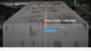 Lyrical Newspaper WordPress Theme
