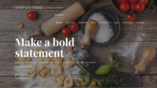 Velux Ramen and Noodle Shop WordPress Theme