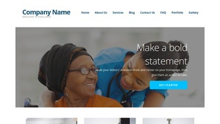 Ascension Nursing Agency WordPress Theme
