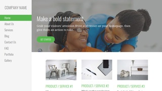 Escapade Nursing Agency WordPress Theme
